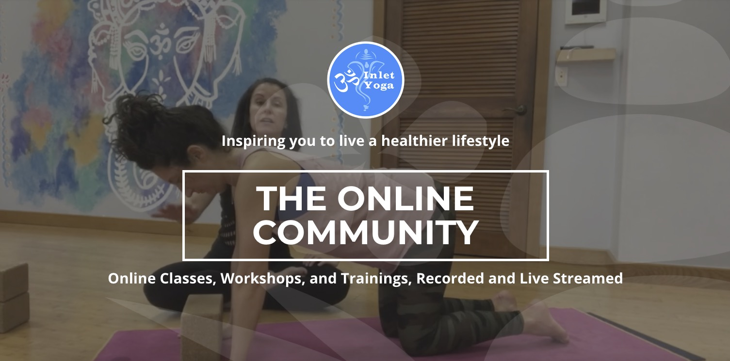 Livestream and On Demand Classes | Inlet Yoga