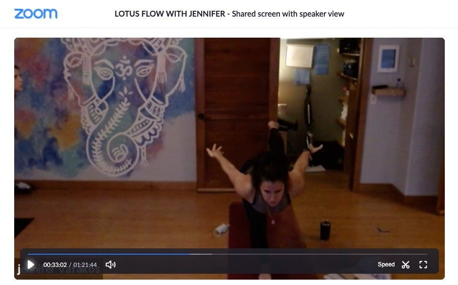 Inlet Yoga | Livestreamed Zoom Classes